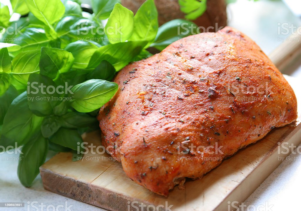 Delicious Meat royalty-free stock photo