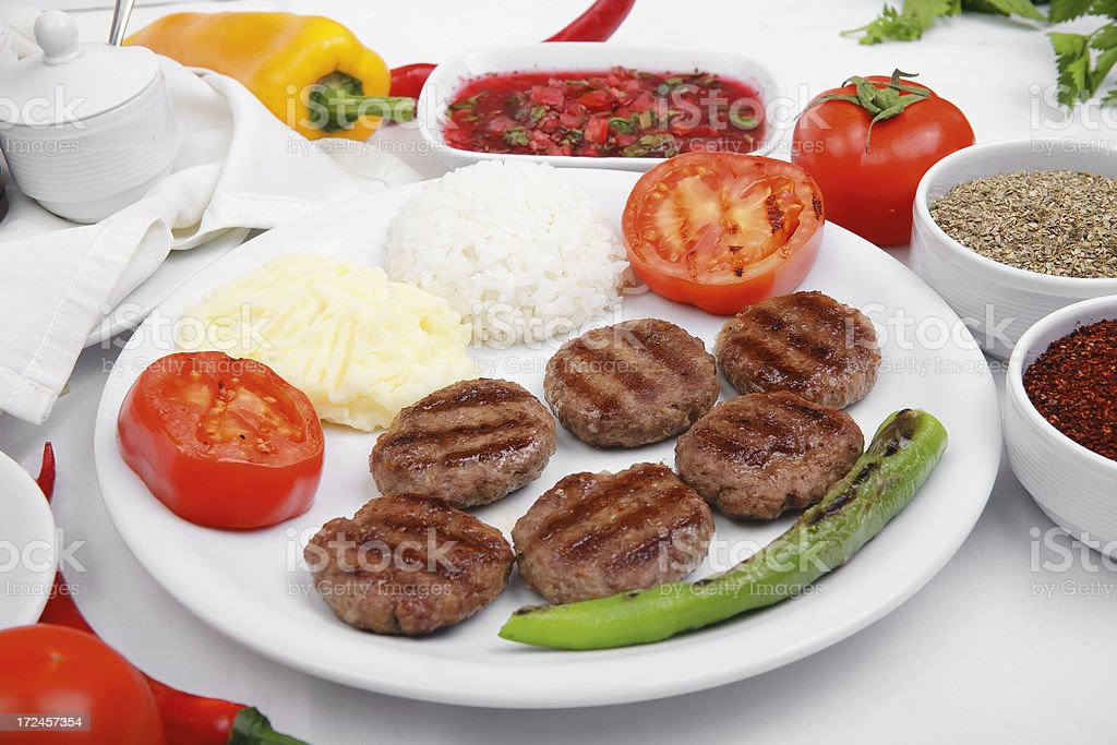 Delicious meatball royalty-free stock photo