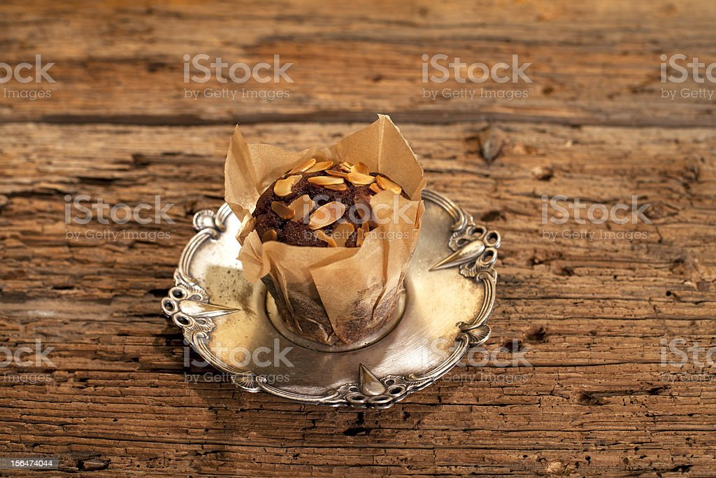 delicious muffin royalty-free stock photo