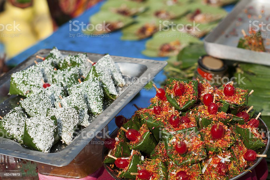 Delicious Paan Masala stock photo