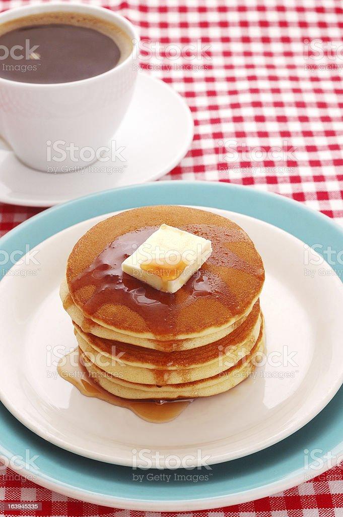 delicious pancakes royalty-free stock photo