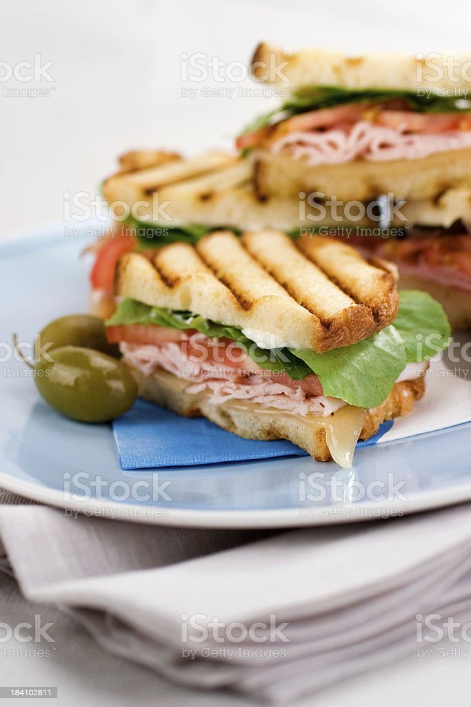 Delicious Panini royalty-free stock photo