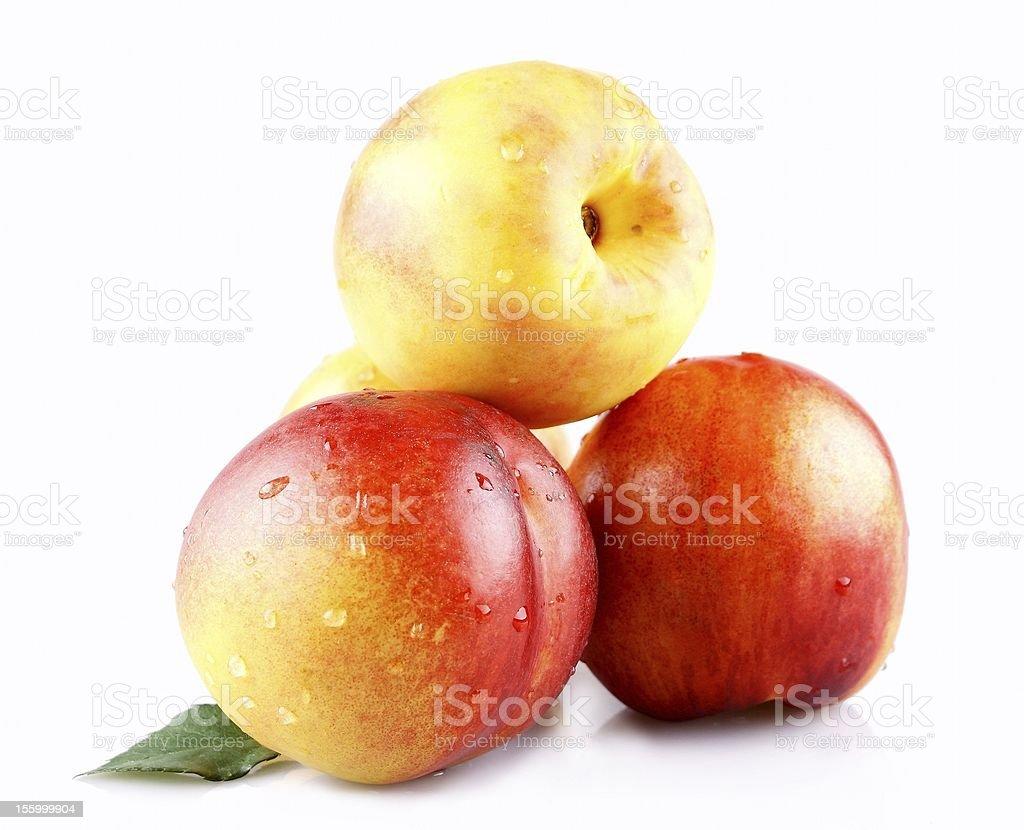 delicious peaches royalty-free stock photo