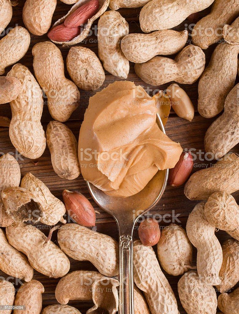 Delicious peanut stock photo