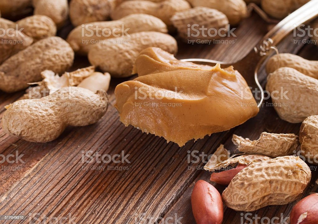 Delicious peanut stock photo