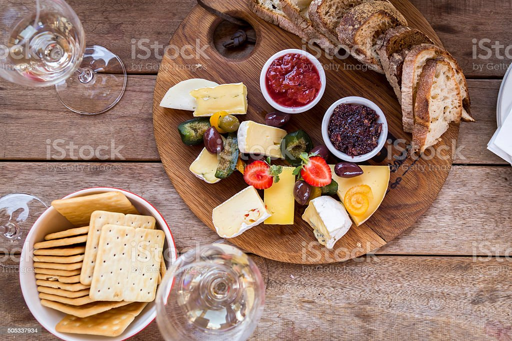 Delicious Platter stock photo
