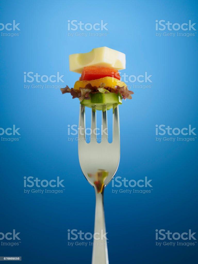 delicious portion stock photo