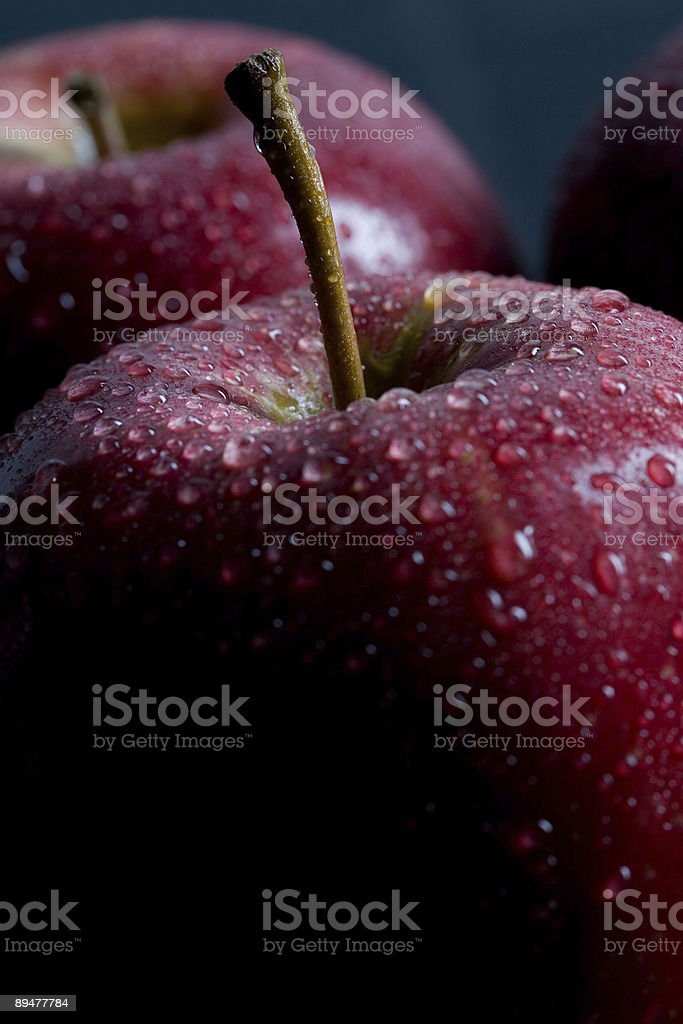 Delicious Red Apples royalty-free stock photo