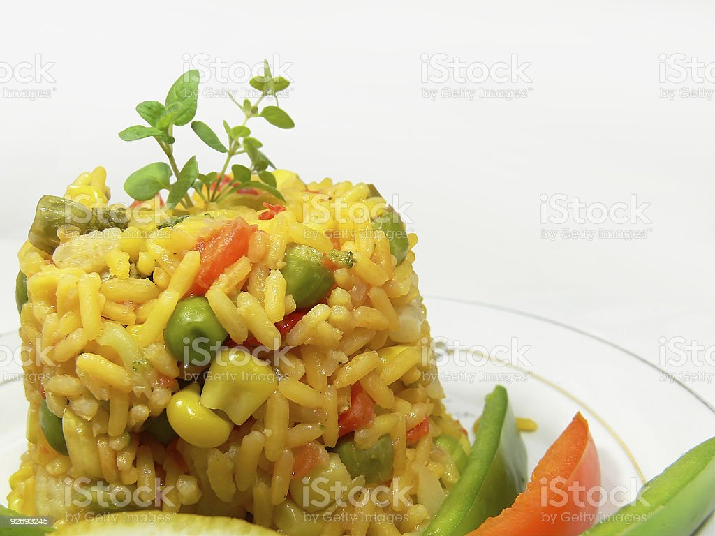 Delicious risotto royalty-free stock photo