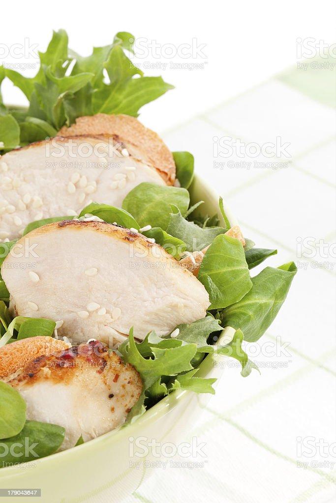 Delicious salad. royalty-free stock photo