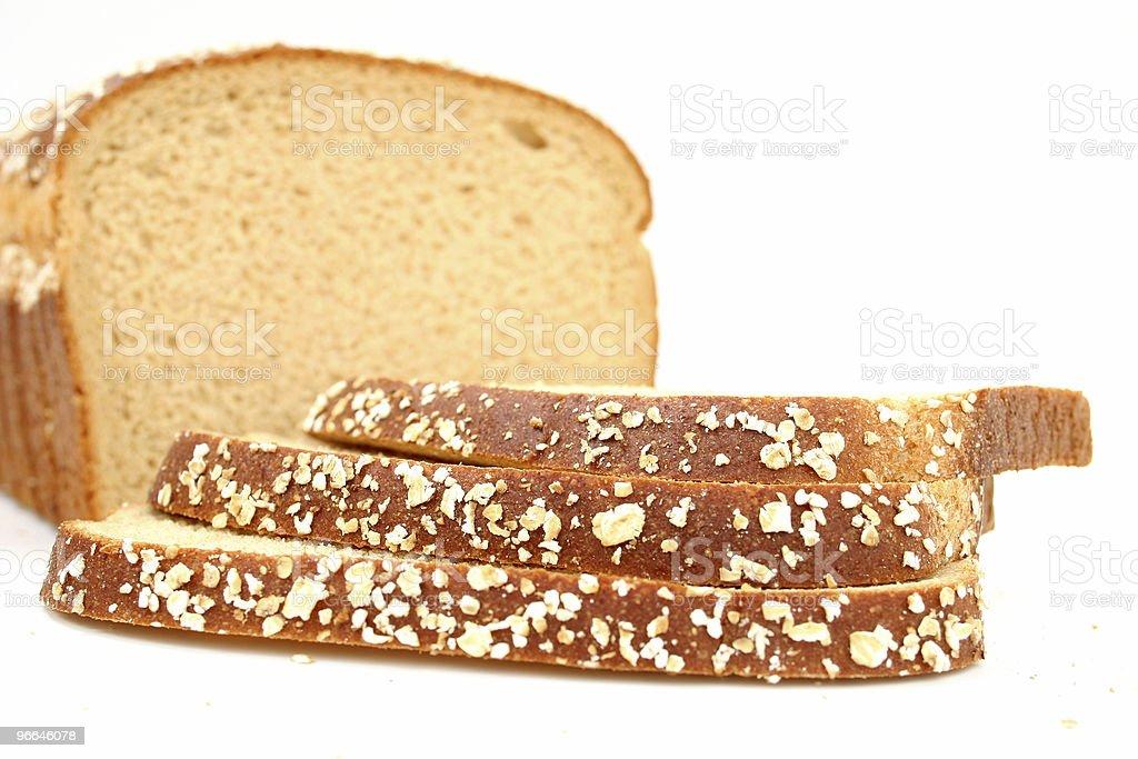 Delicious Sliced Honey Wheat Bread royalty-free stock photo