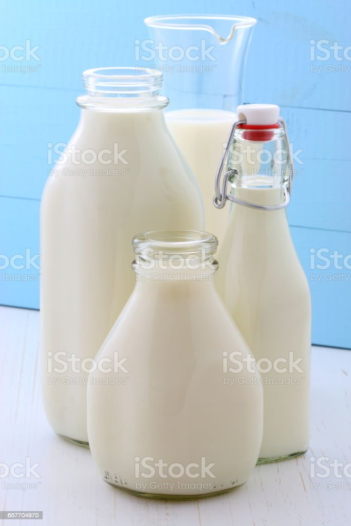 Delicious soy milk stock photo