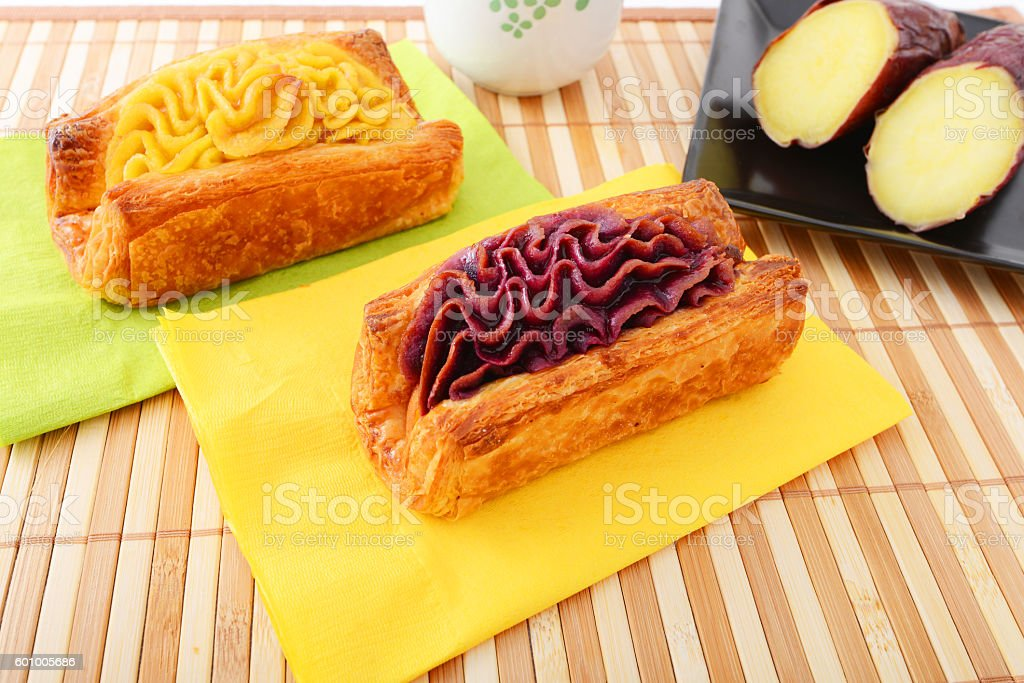 Delicious sweets stock photo