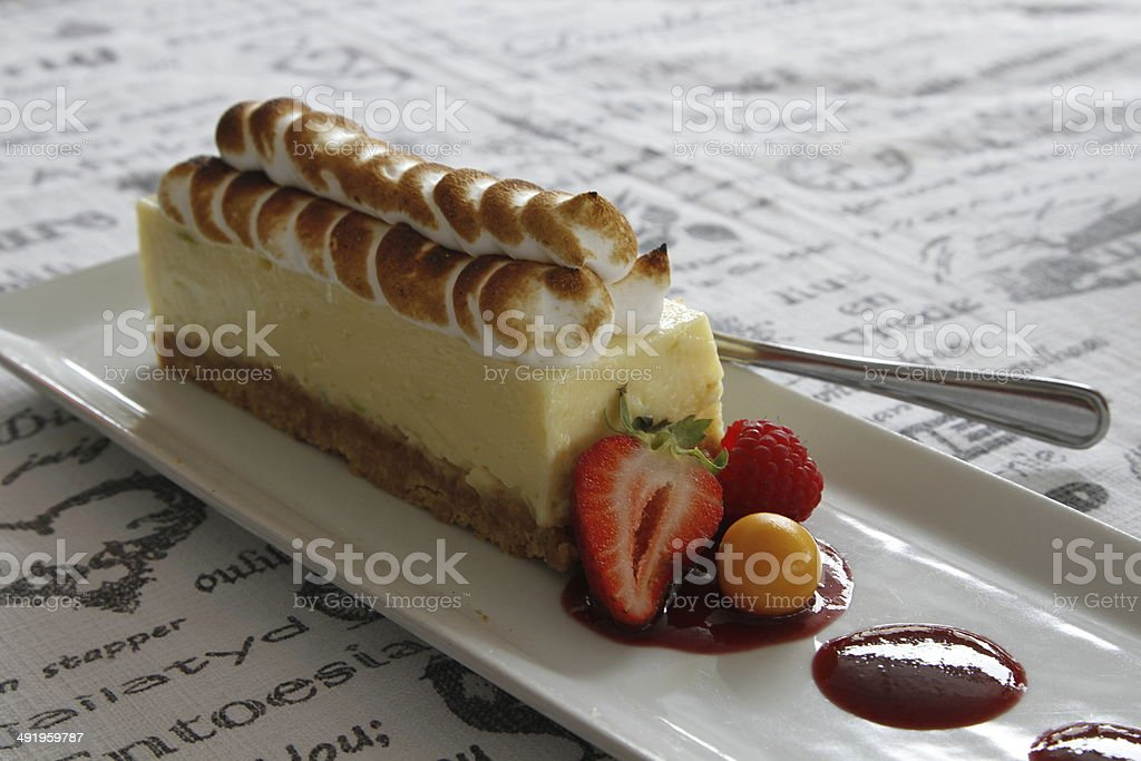 Delicious Tart stock photo
