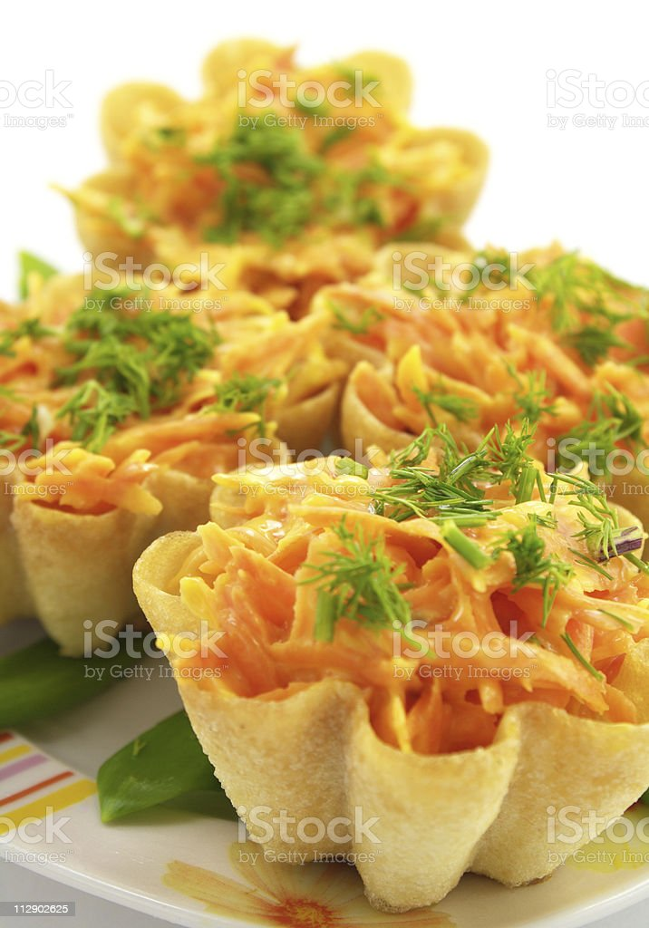 Delicious tartlets royalty-free stock photo