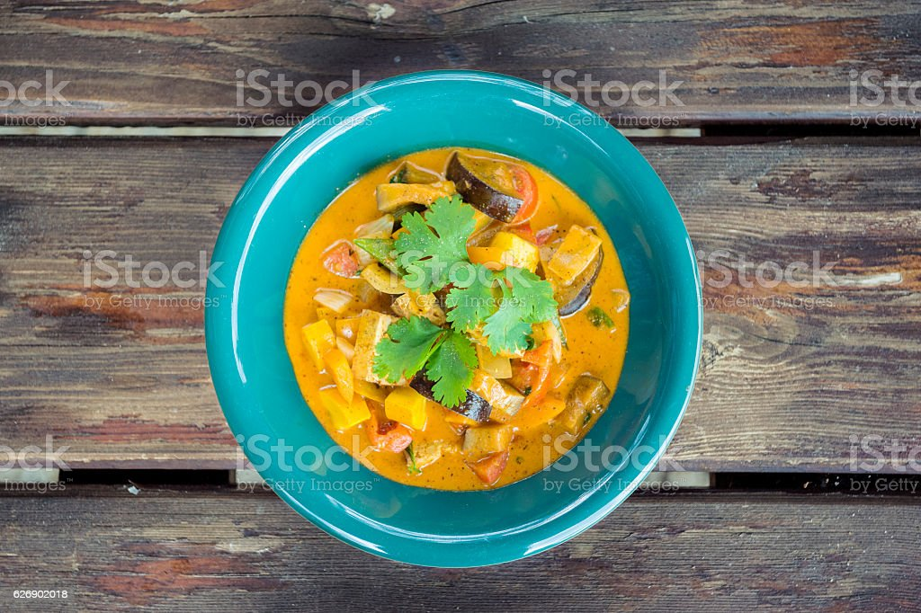 Delicious Thai Curry stock photo