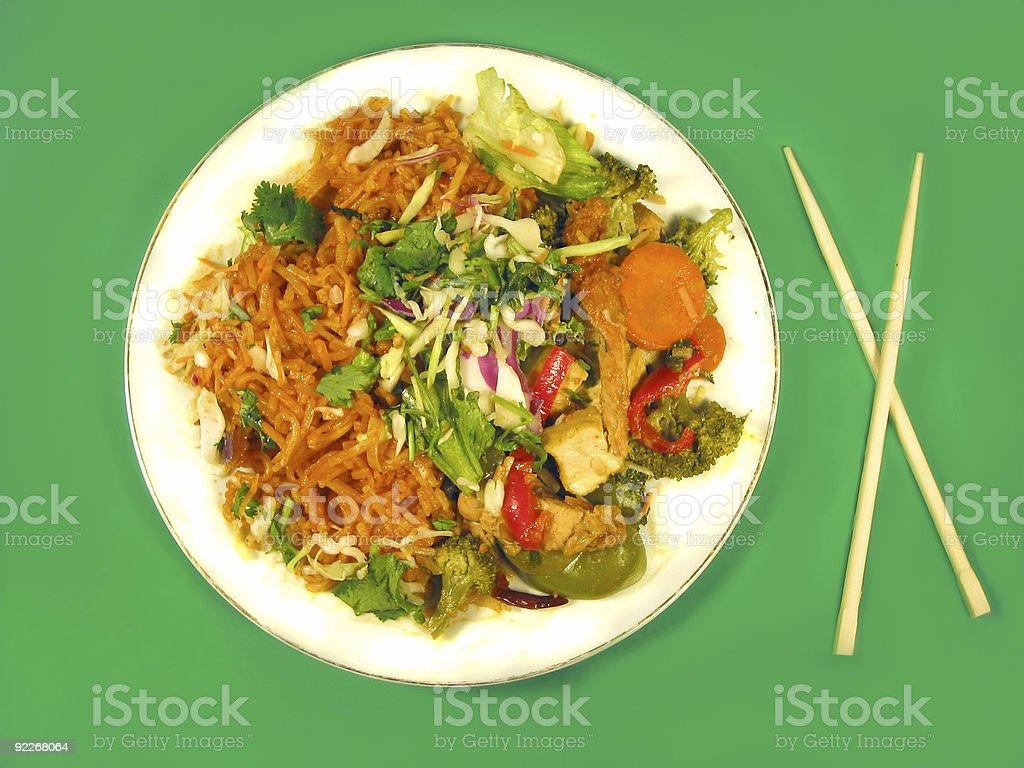 delicious Thai food stock photo