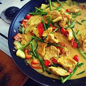 Delicious vegan asian food