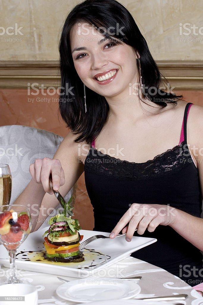 Delightful Dinner royalty-free stock photo