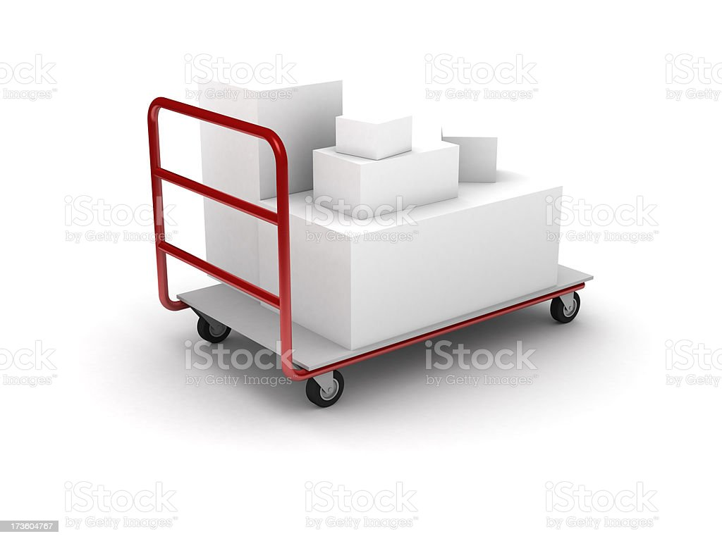 Deliver royalty-free stock photo