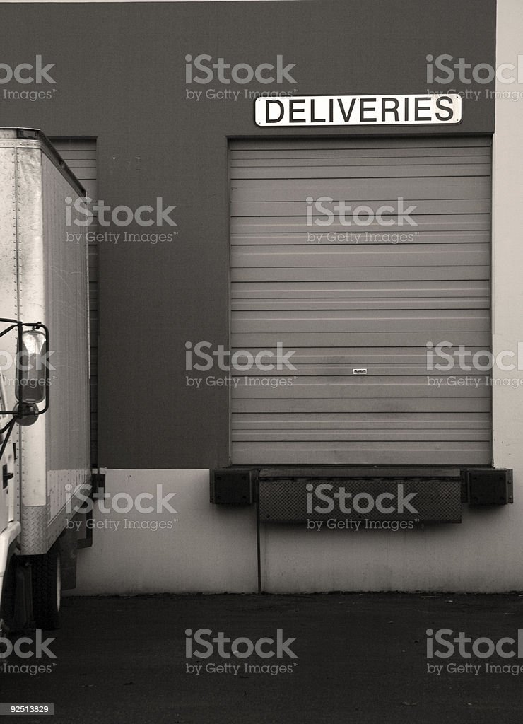 deliveries royalty-free stock photo