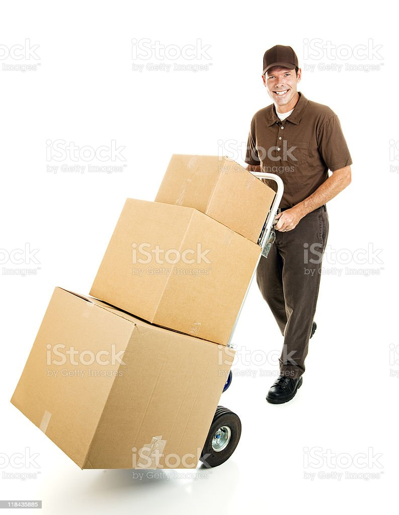 Delivering For You royalty-free stock photo