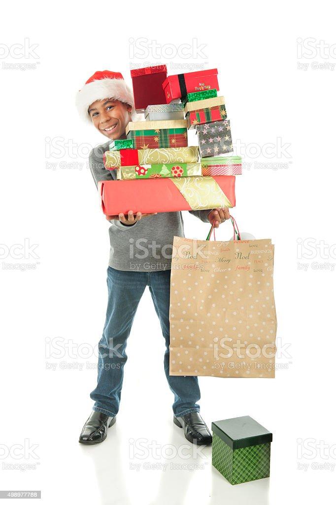 Delivering Joy stock photo