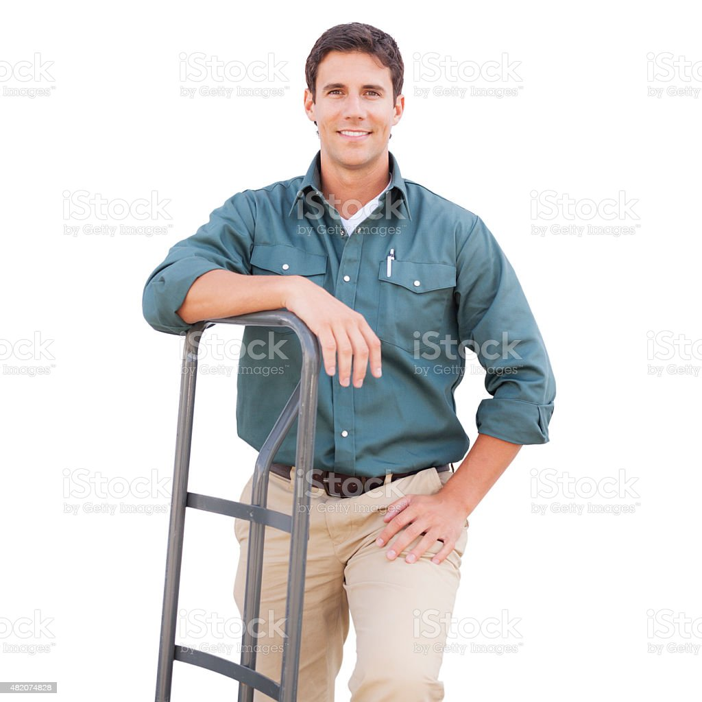 Delivering the Goods stock photo