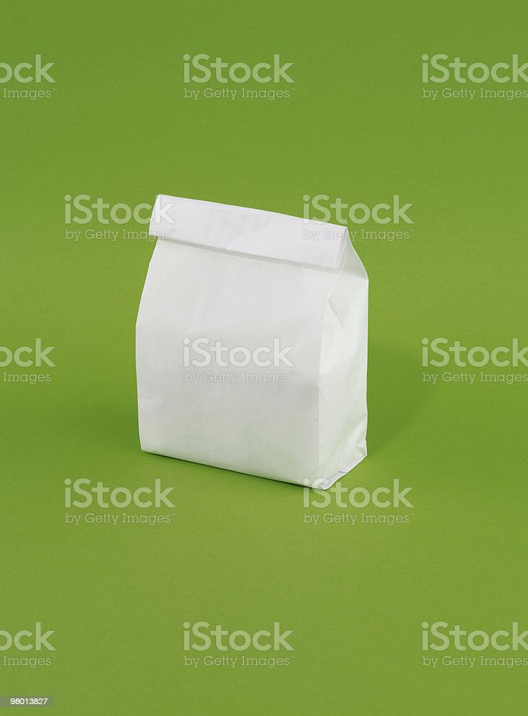 Delivery bag royalty-free stock photo