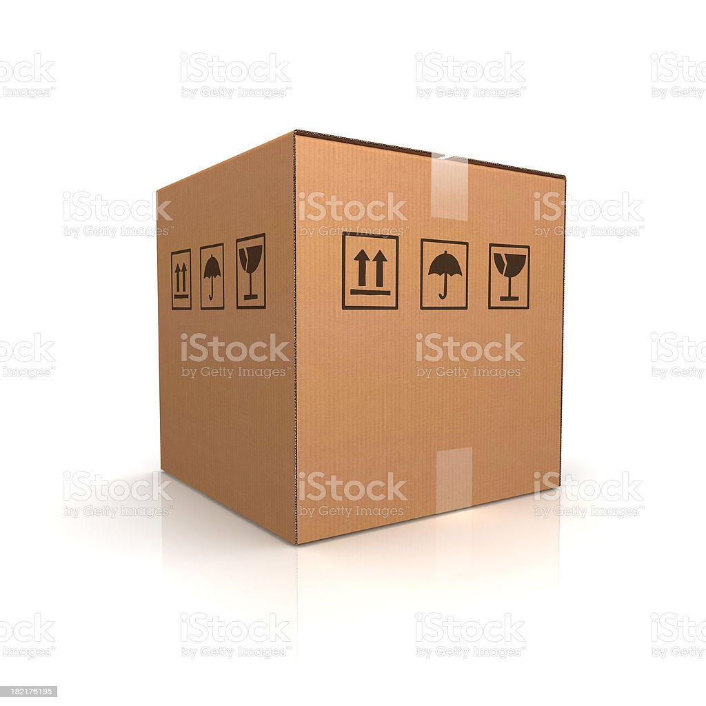 Delivery Box royalty-free stock photo
