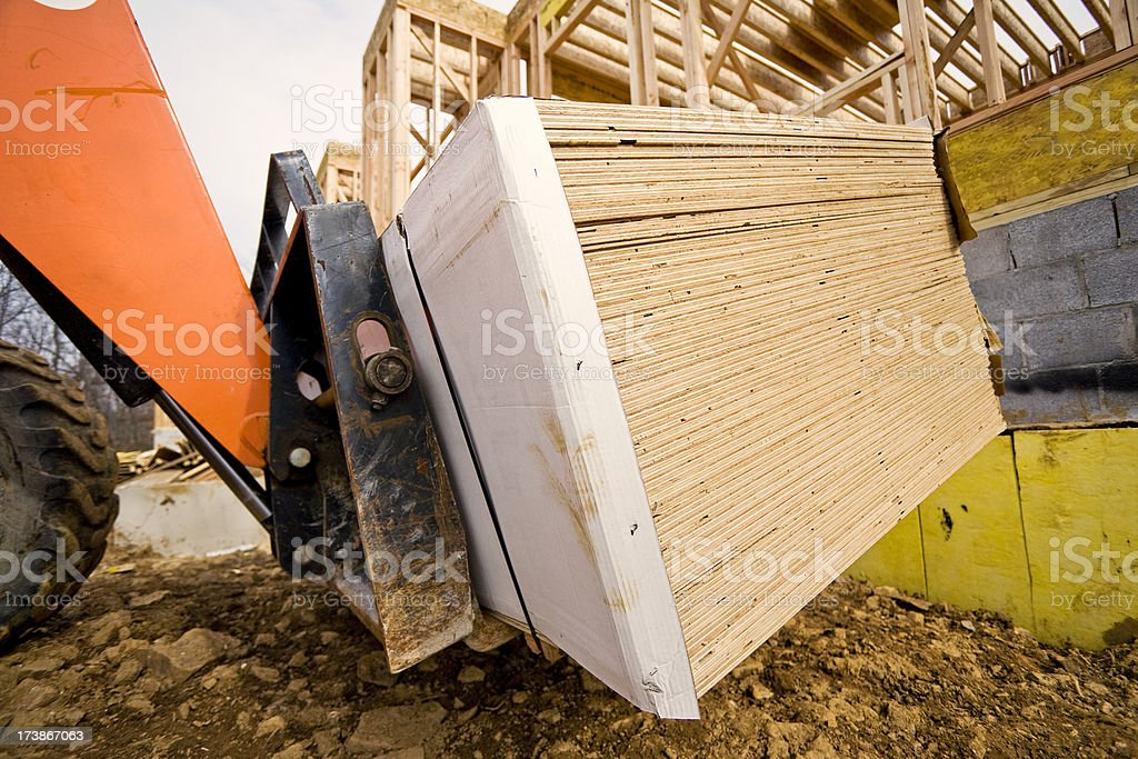 Delivery on Site royalty-free stock photo