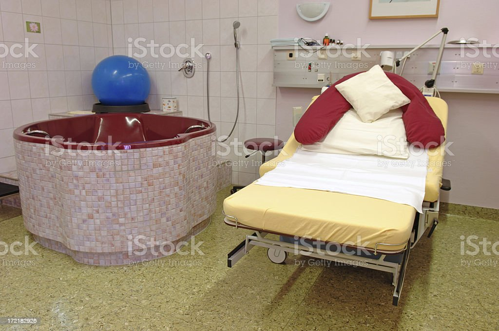 Delivery room #5 royalty-free stock photo