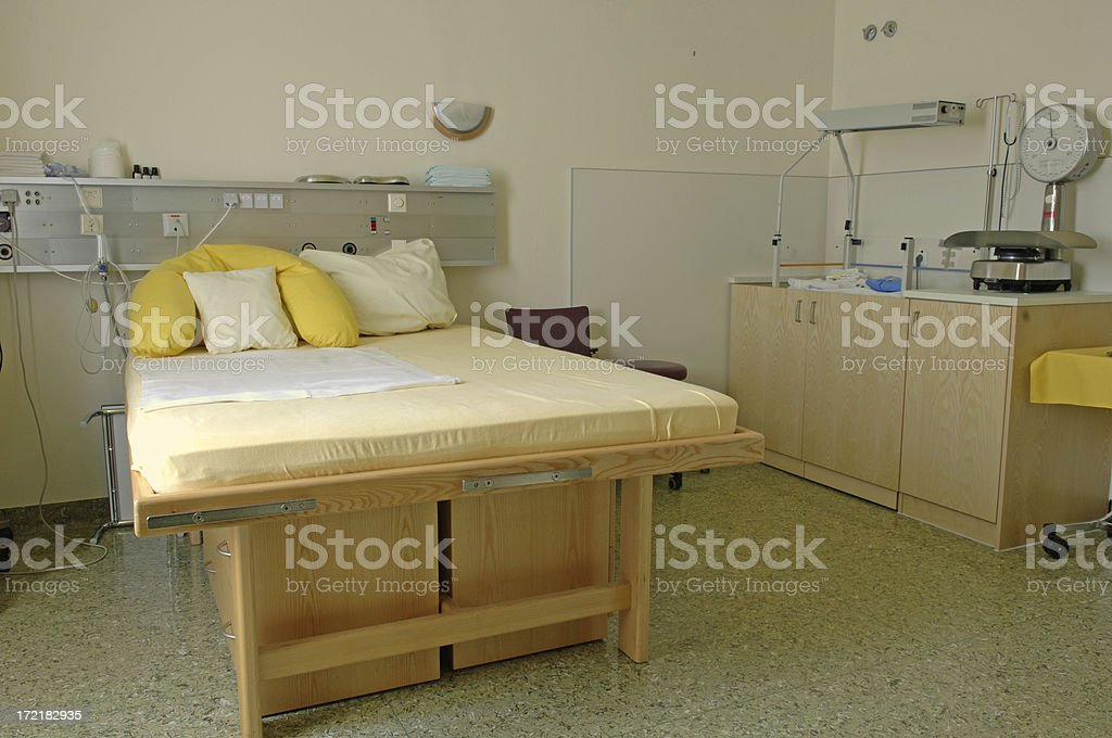 Delivery room #6 stock photo