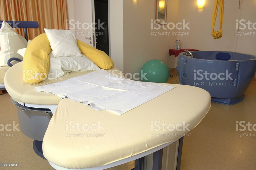 Delivery room #2 stock photo