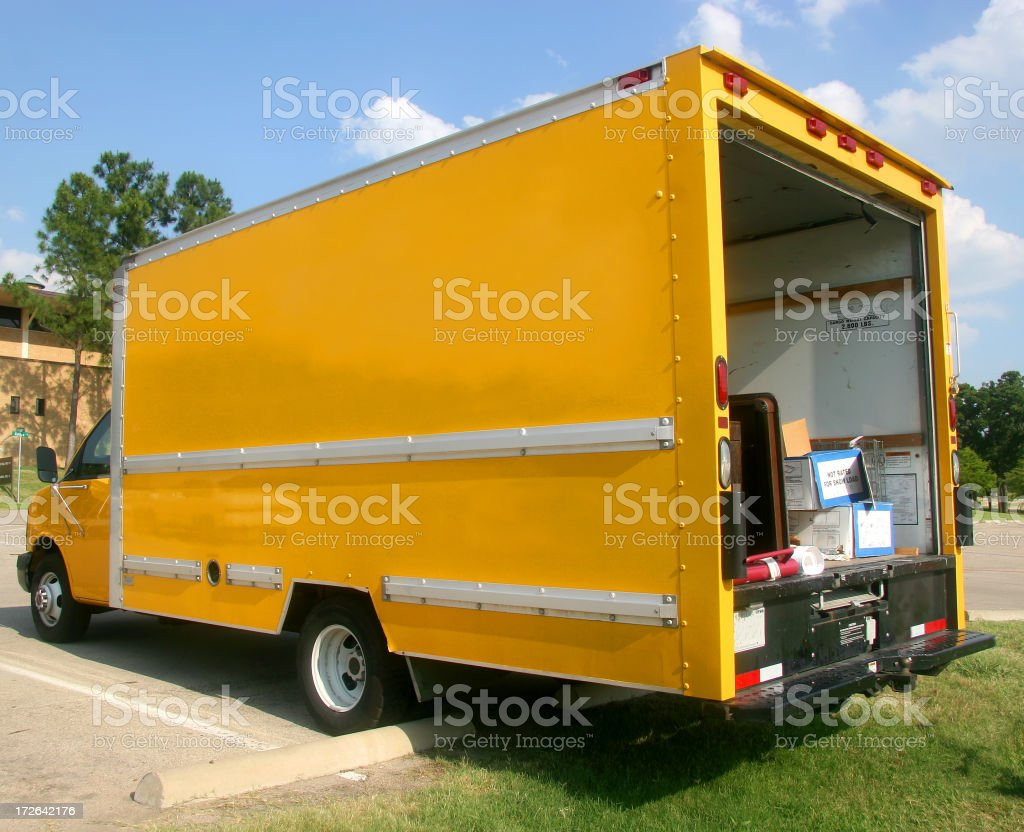 Delivery Truck (2) royalty-free stock photo