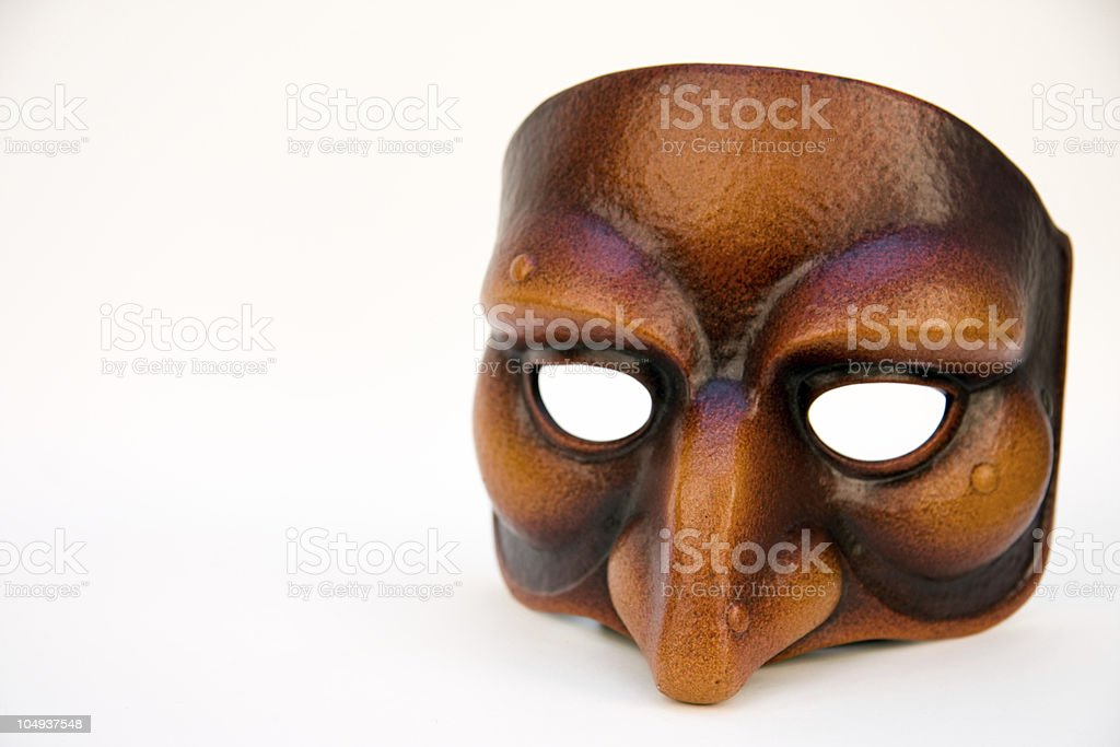 Masque Dell Arte royalty-free stock photo