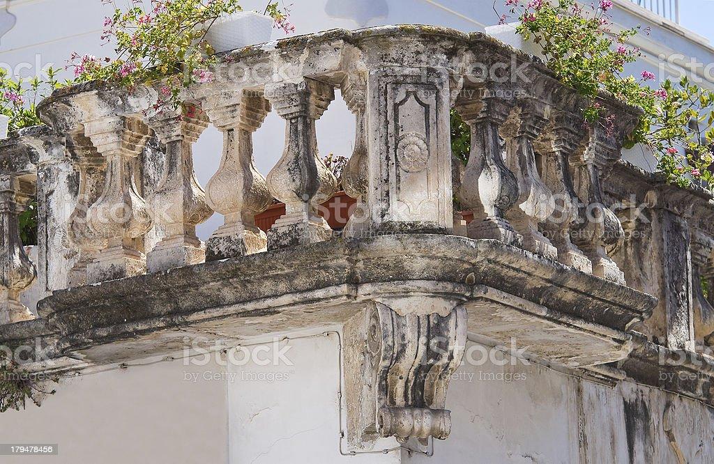 Delli Santi Palace. Manfredonia. Puglia. Italy. royalty-free stock photo