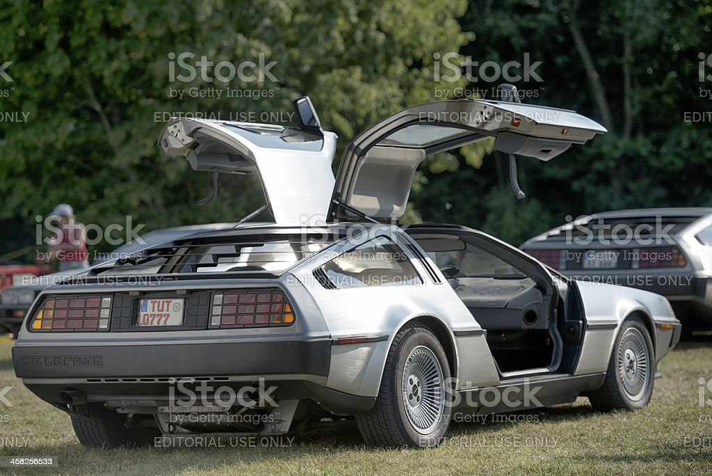 DeLorean DMC-12 stock photo