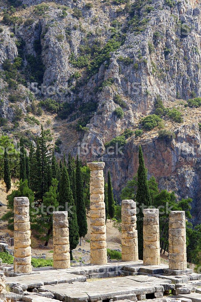 Delphi, Greece royalty-free stock photo
