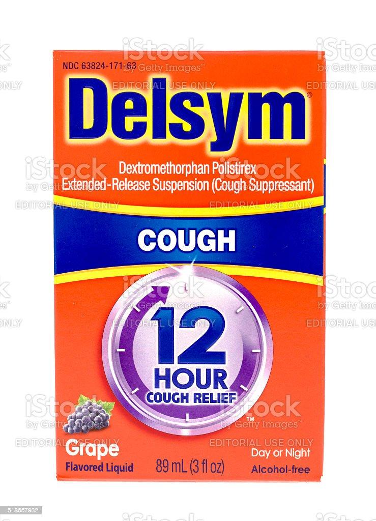 Delsym stock photo