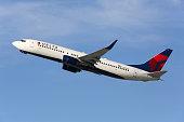 Delta Air Lines Boeing 737-800 airplane