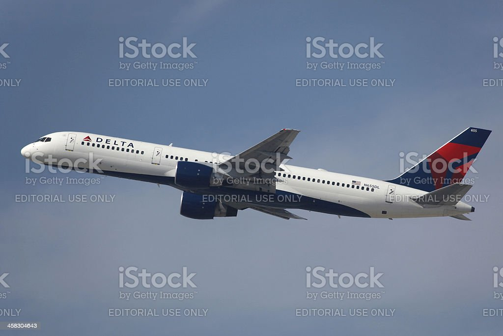 Delta Air Lines Boeing 757-200 stock photo
