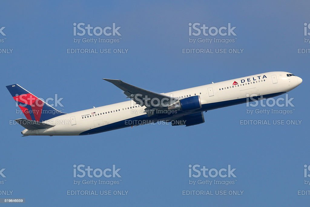 Delta Air Lines Boeing 767-400 stock photo