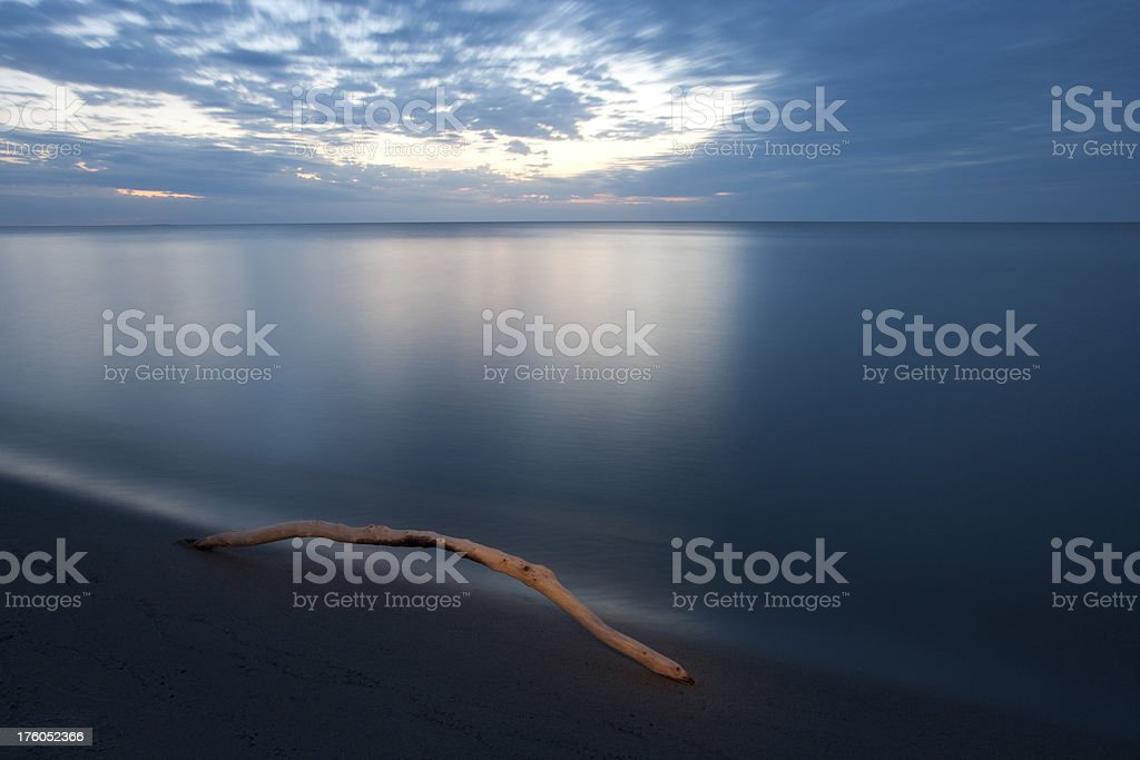 Delta Beach Manitoba royalty-free stock photo