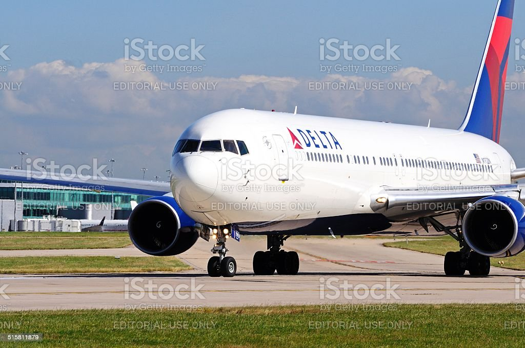 Delta Boeing 767-332ER stock photo