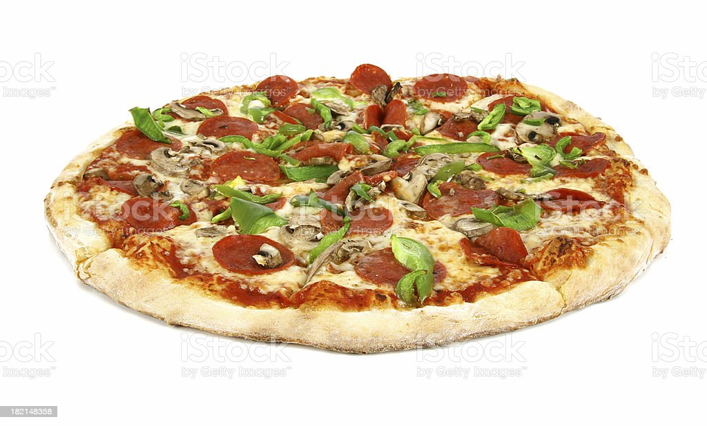 Deluxe Pizza - 01 royalty-free stock photo
