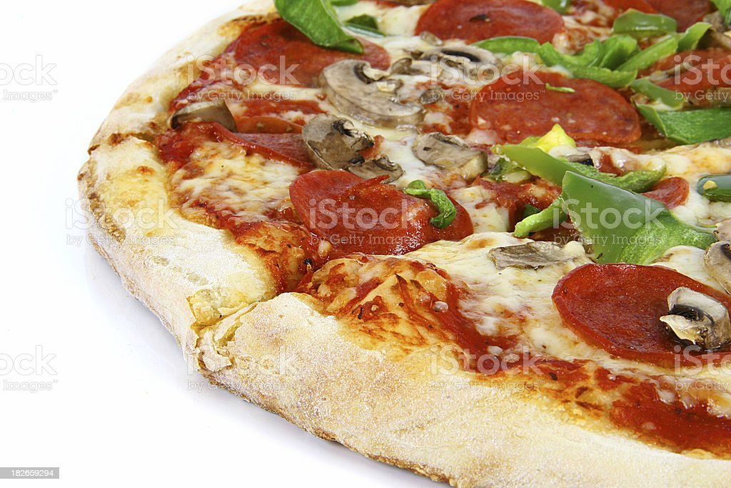 Deluxe Pizza - 03 royalty-free stock photo