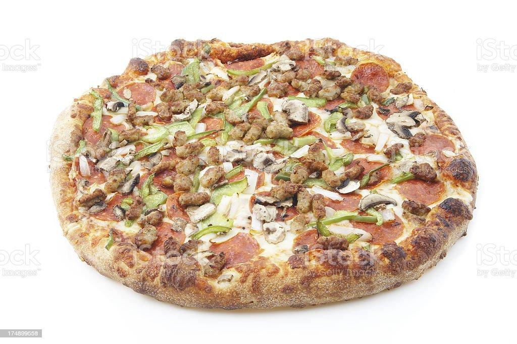 deluxe pizza #6 stock photo
