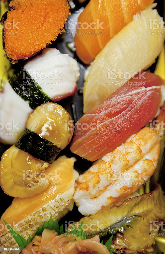 Deluxe Sushi Lunch royalty-free stock photo