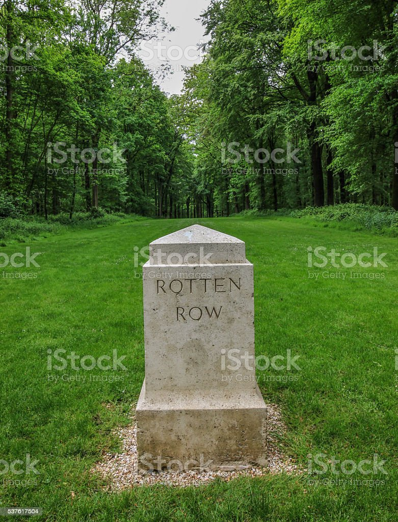 Delville Wood Cemetery stock photo